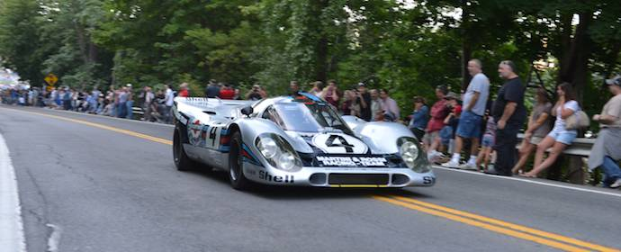 Martini Porsche 917 at Watkins Glen Grand Prix Tribute 2013