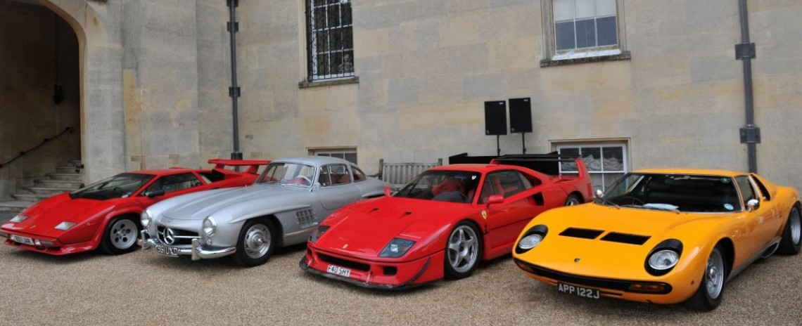 Supercars at Salon Prive Concours d'Elegance 2014