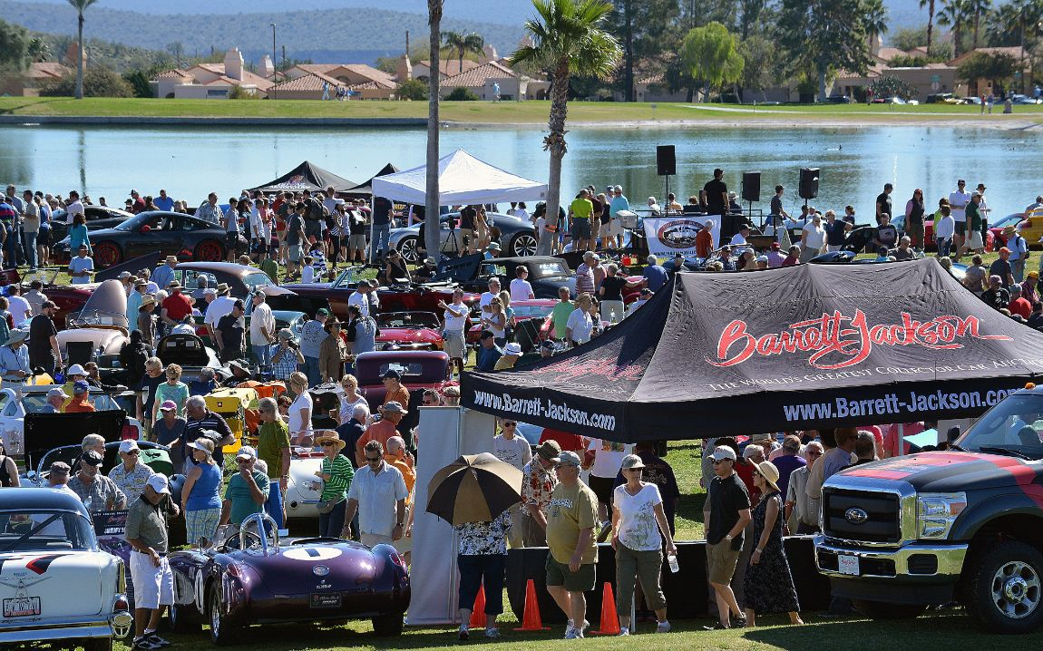 Concours In The Hills Report And Results - Fountain hills car show