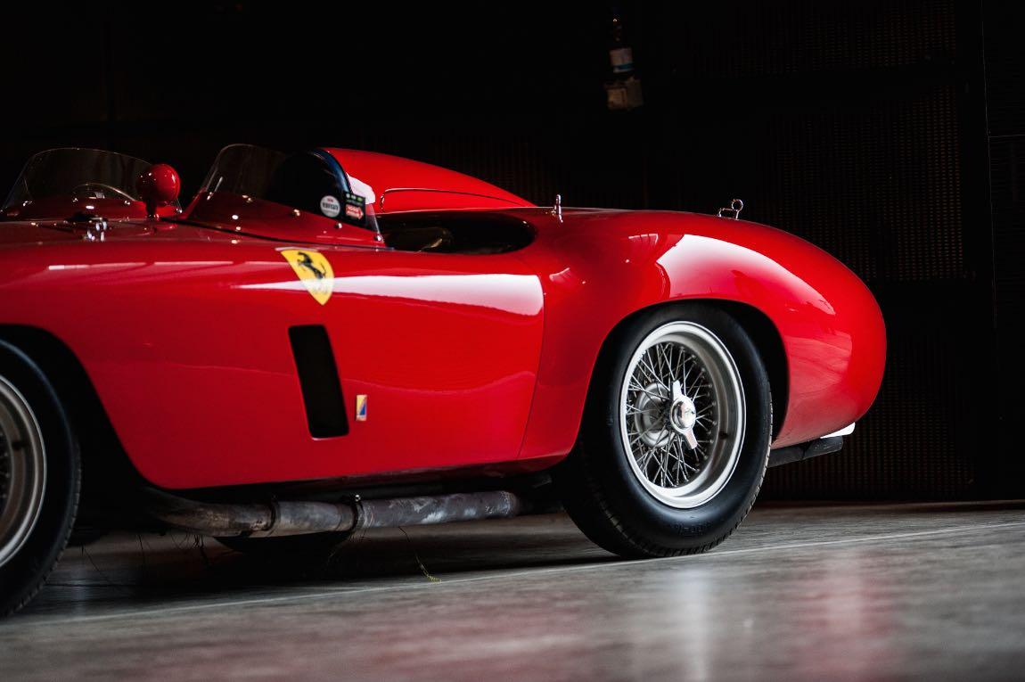 1955 Ferrari 750 Monza Spider Scaglietti