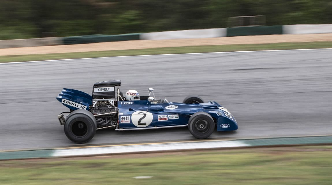 Delane, 71 Tyrrell 002