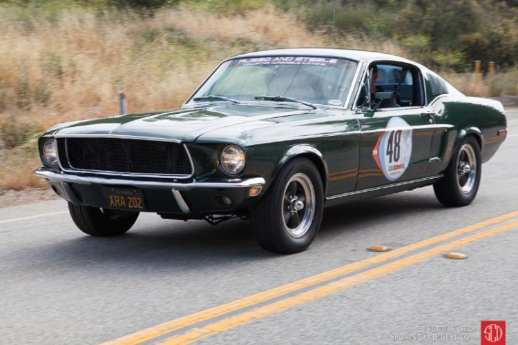 1968 Ford Mustang driven by Dave Kunz