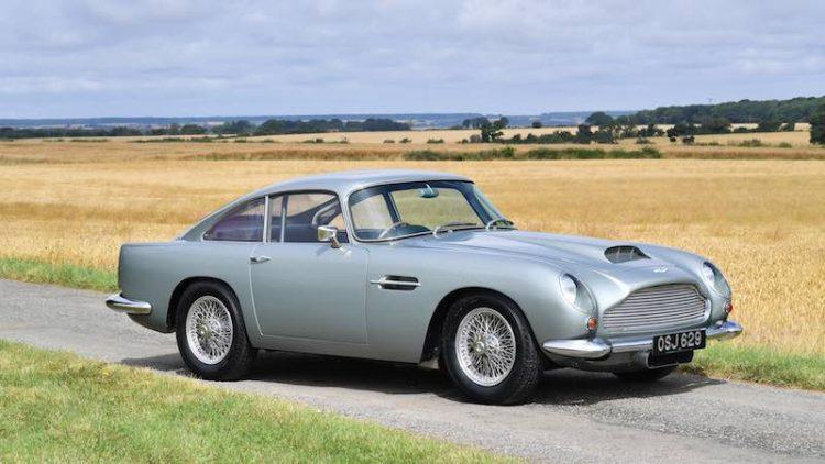 1960 Aston Martin DB4GT (photo: Tim Scott)