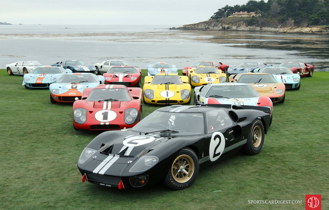Pebble Beach Car Show >> Pebble Beach Concours D Elegance 2016 Photos Results And