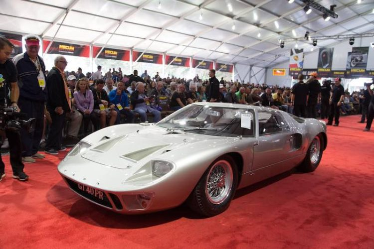 Mecum Monterey 2016 1966 Ford GT40 MkI sold for $4,400,000