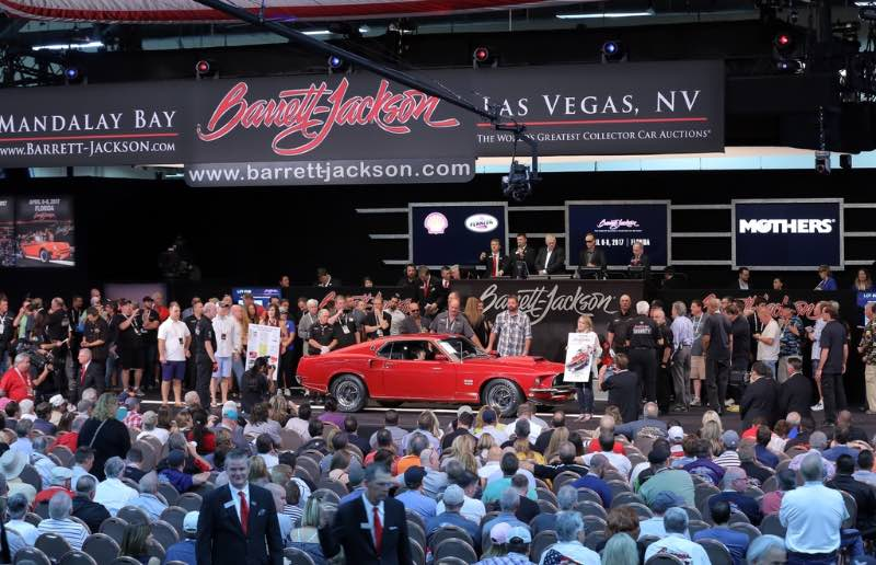 Barrett Jackson Auction 2017 >> Barrett Jackson Las Vegas 2016 Auction Results
