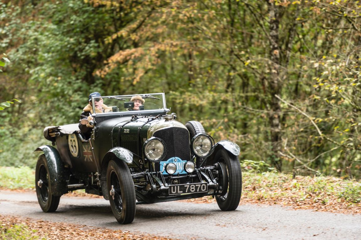 Car 33 Hugh Apthorp (GB) / Lesley Apthorp (GB)1929 Bentley 4.5