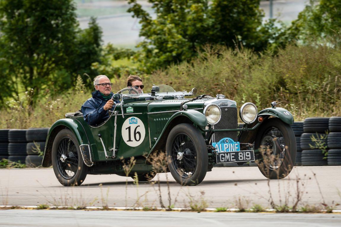 Car 16 Bertie Van Houtte(F) / Pierre Van Houtte(GB) 1936 - Frazer Nash TT REP