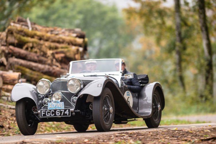Car 06 Clint Smith (GB) / Brad Smith (GB) 1938 Jaguar SS100 3.5