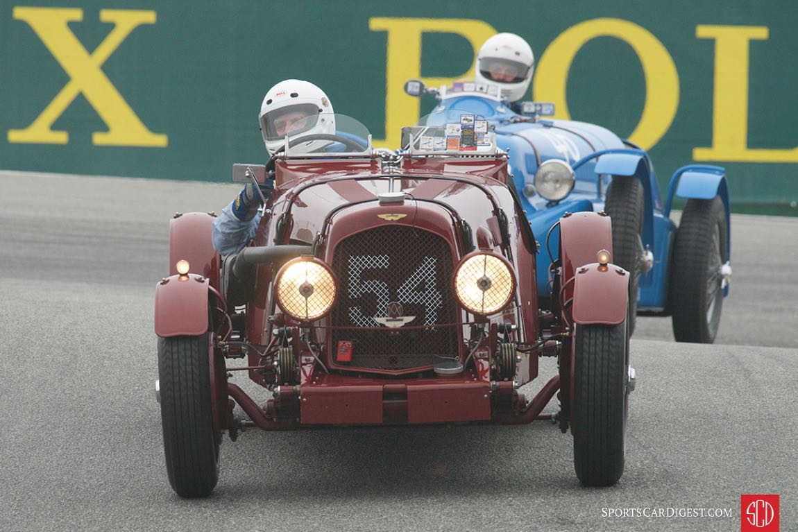 Len Auerbach - 1938 Aston Martin 2 Liter Ulster
