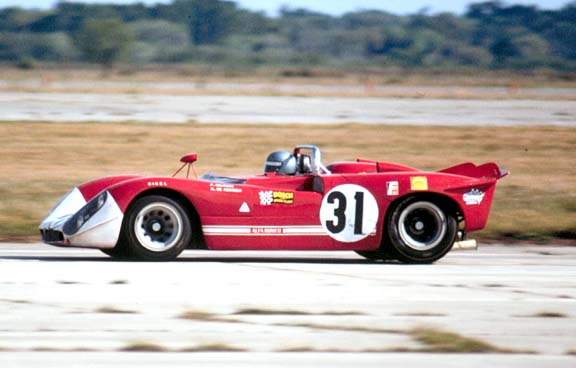 Piers Courage in the Alfa Romeo 33/3.