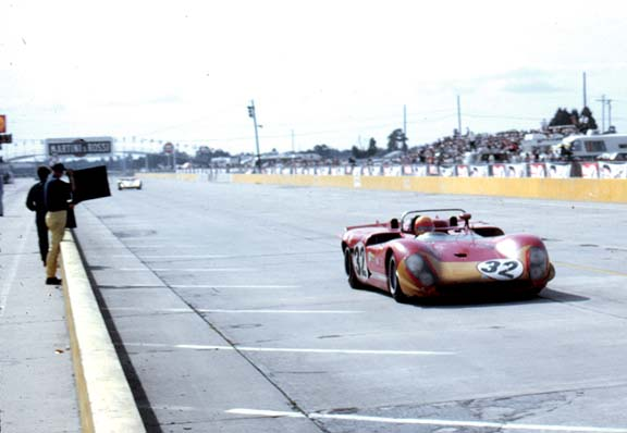Nani Galli in the Alfa Romeo 33/3.