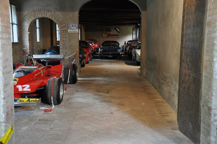 Ex-Gilles Villeneuve Ferrari 312 T4
