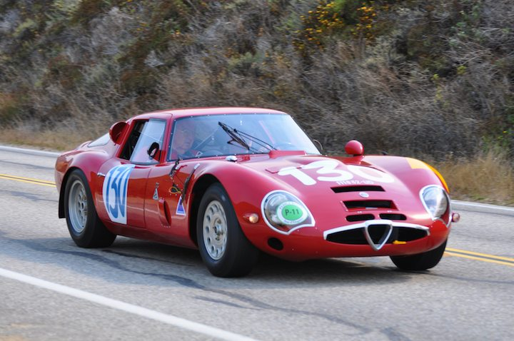 1965 Alfa Romeo TZ2 Zagato Competition Berlinetta