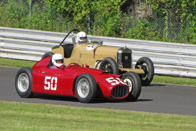 1955 Lancia D50 - The Collier Collection and 1935 Amilcar Ford - Tom Ellsworth