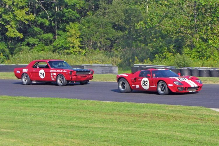 1969 Ford GT40 - Archie Urciuoli and 1965 Ford Mustang - Gregory Meindl