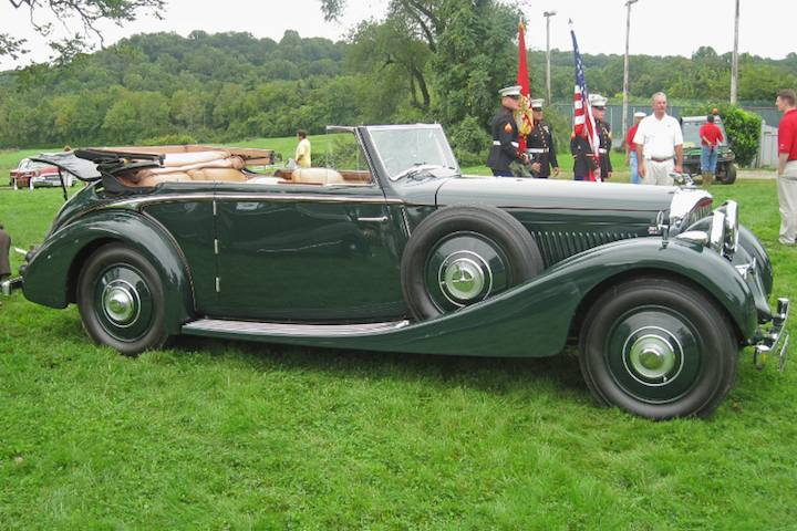1936 Bentley 4 1/4 Litre Drophead Coupe by James Young