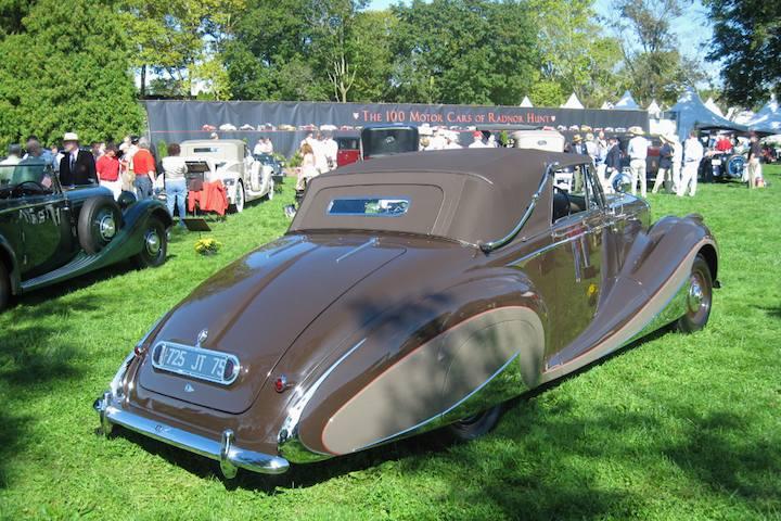 1947 Bentley Mk VI Cabriolet by Franay