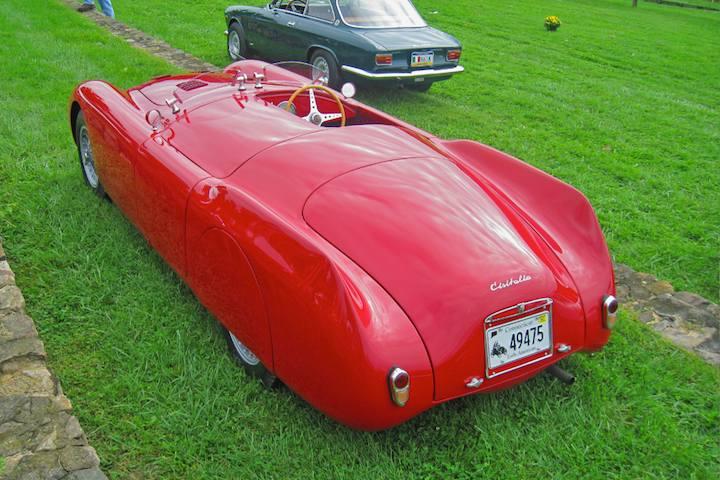 1948 Cisitalia 202 MM Nuvolari Spyder
