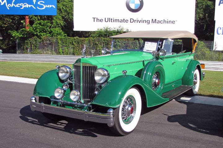 Best of Show 1934 Packard Dual-Cowl V12 Sport Phaeton - George Dragone