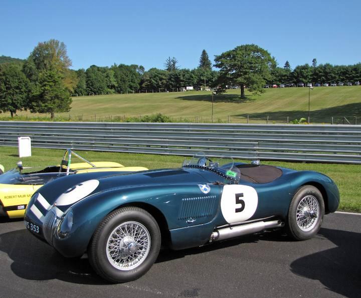 1953 Jaguar C-Type - Bill Binnie
