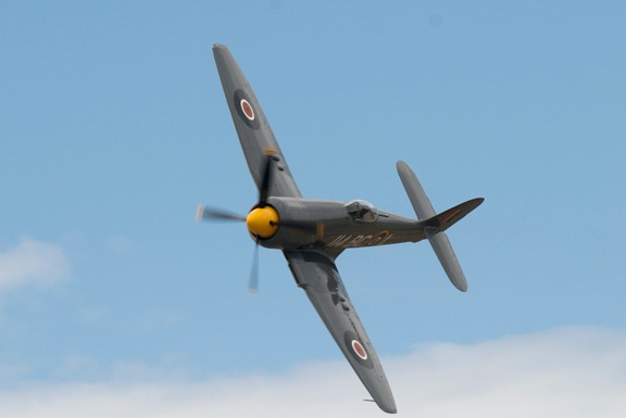 #114 Argonaut Hawker Sea Fury of Dennis Sanders