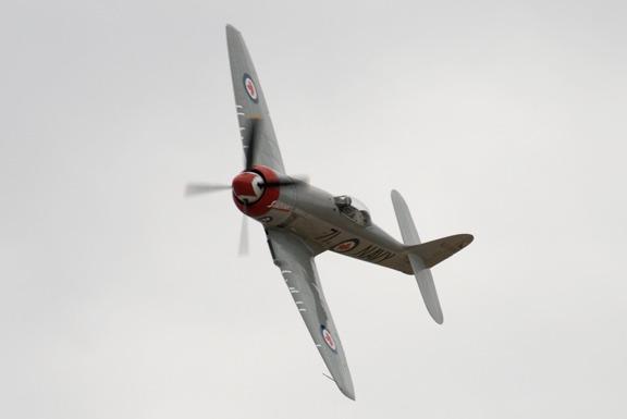 Hawker Sea Fury Sawbones of Ray Dieckman