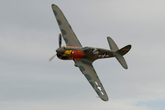 P-40N Parrothead of John-Curtiss Paul