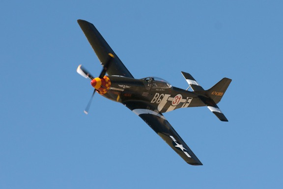 Rob Gordon in Speedball Alice P-51D Mustang