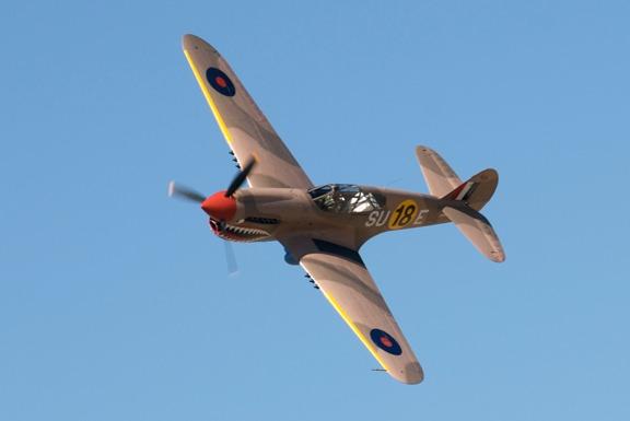 Sneak Attack John Maloney's P-40E