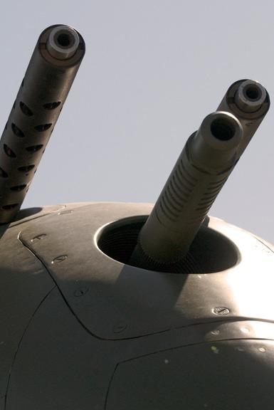 P-38 nose hardware