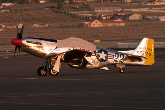 Sunrise at Reno Air Races