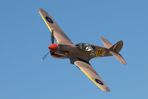 John Maloney's P-40E Sneak Attack