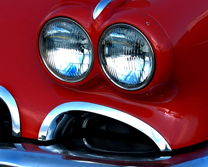 Chevrolet Corvette Headlight Detail