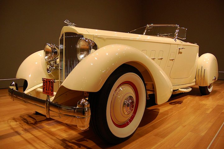 1934 Packard Twelve Runabout Speedster