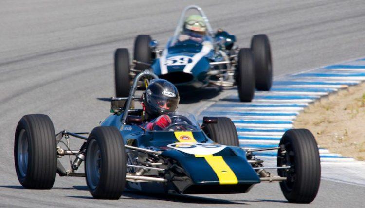 Scott Drnek in his Lotus 69.
