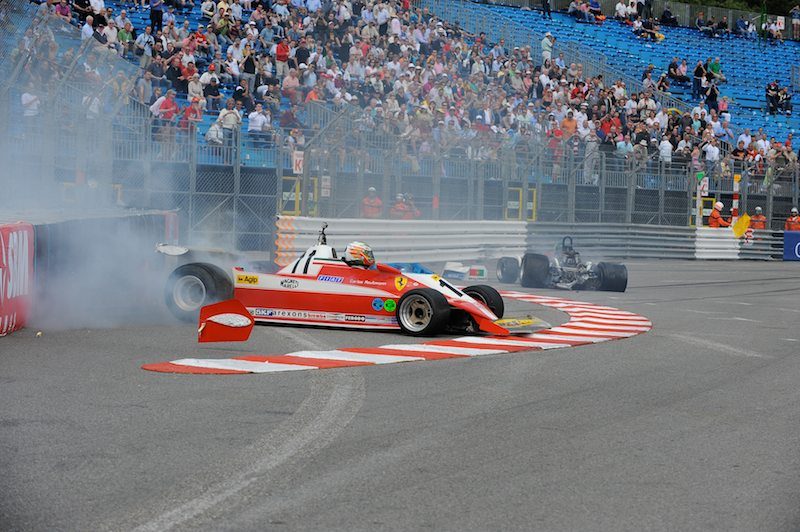 Ferrari 312T3 - Joaquin Folch-R and March 761 - Rodrigo Gallego