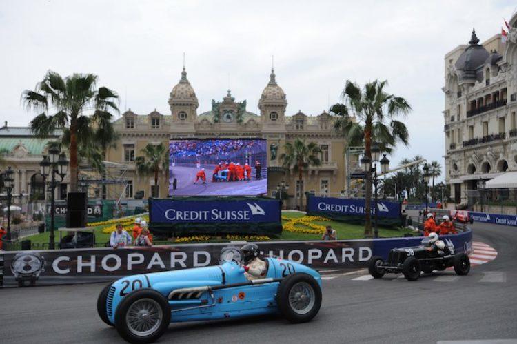 Maserati V8RI - Josef Otto Rettenmaier leads ERA B-Type of Michael Gans