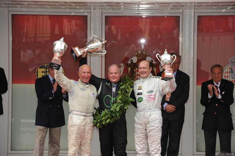 Duncan Dayton atop podium for Formula One Grand Prix Cars from 1966-1974