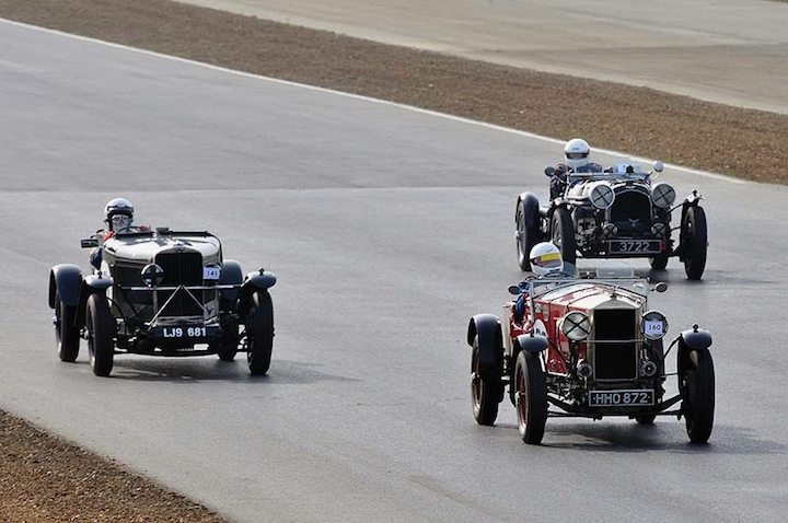 1929 Invicta Sports Tourer of Alan Brown leads Norman Pemberton 1935 Talbot 95-105 Sports Special