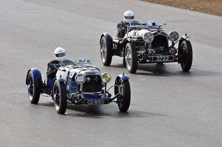 1933 Aston Martin Le Mans of Christopher Scott Mackirdy and David Ozane 1938 Aston Martin Speed Ulster