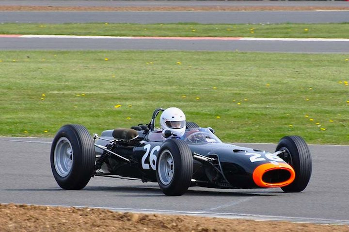 Andrew Waring in the fabulous sounding BRM P261 from 1961