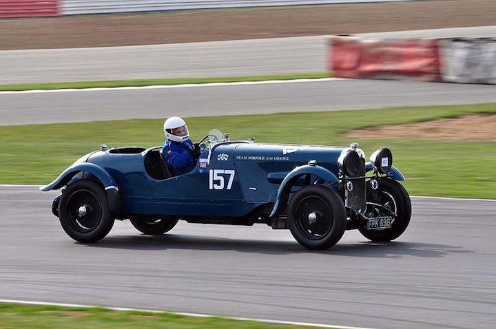David Hine 1937 Lagonda LG45