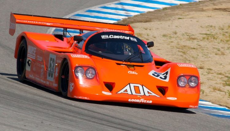 Beautifully turned out 1990 Porsche 962C of Jimmy Castle, Jr.