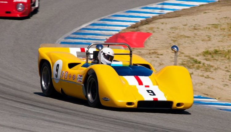 1968 McLaren M6B driven by both Ilja Burkoff and Bob Lee.