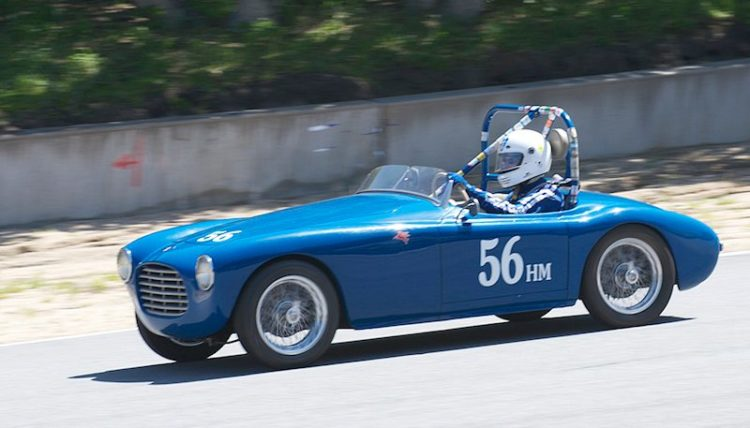 1952 Siata 300BC driven by Marty Stein.