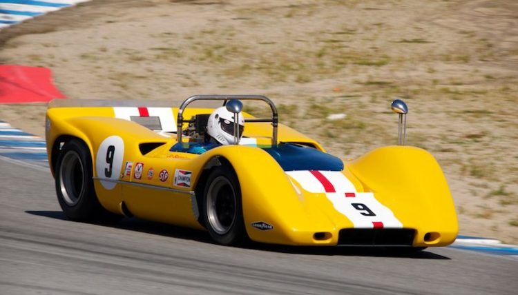 Bob Lee - 1968 McLaren M6B in turn five.