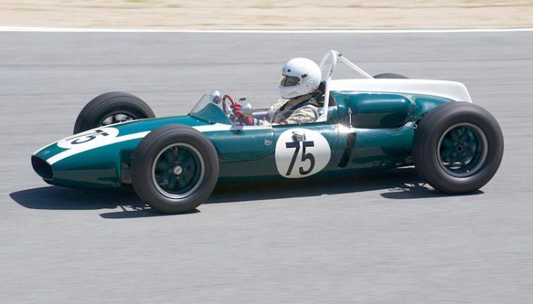 Jeff Abramson's 1960 Cooper T53.