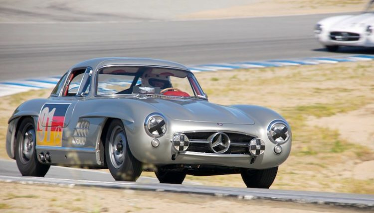 Alex Curtis - 1955 Mercedes-Benz 300SL Gullwing.