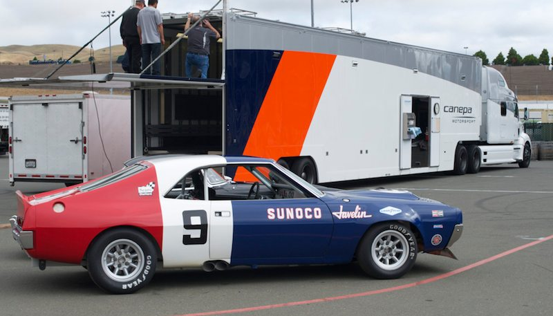 thursday-morning-the-1970-amc-javelin-and-canepas-team-truck